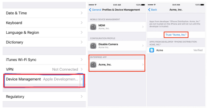 How to Trust Apps on iPhone 2
