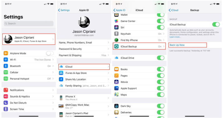 How to Backup Apps on iPhone 5