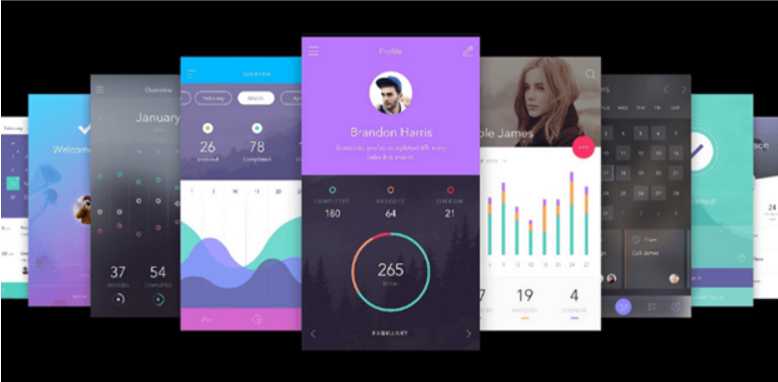Top 20 Free PSD App Design Templates in 2020 4