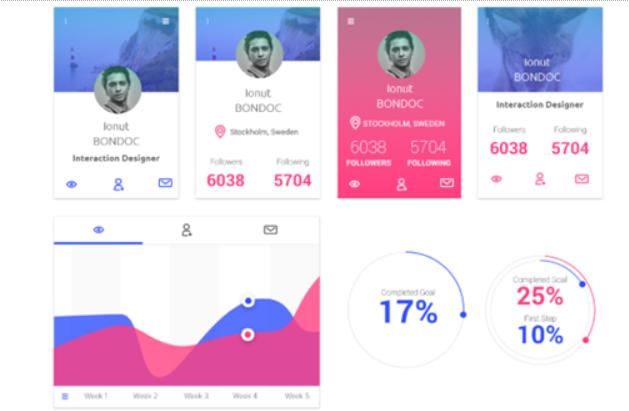 Top 20 Free PSD App Design Templates in 2020 6