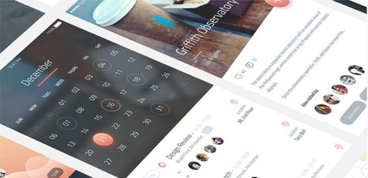 Top 20 Free PSD App Design Templates in 2020 10