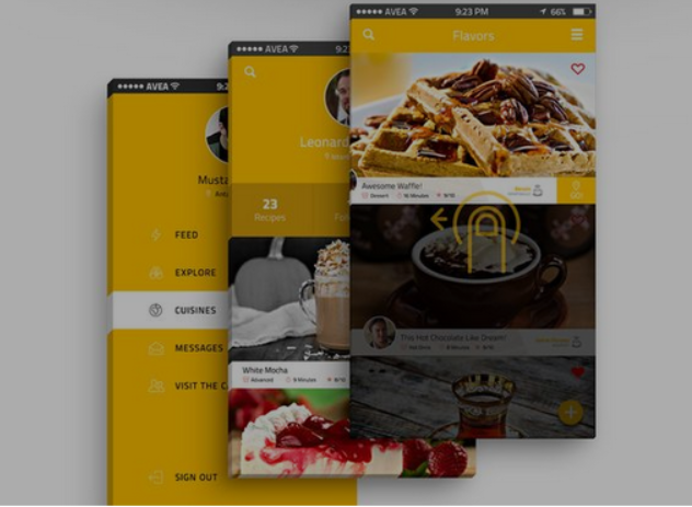 Top 20 Free PSD App Design Templates in 2020 14