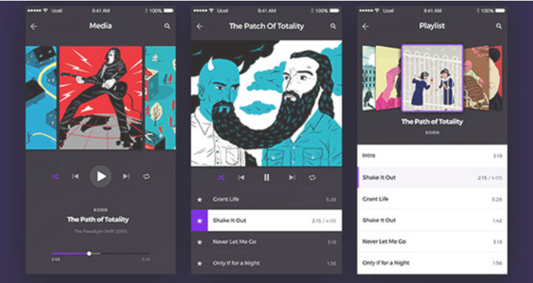 Top 20 Free PSD App Design Templates in 2020 38