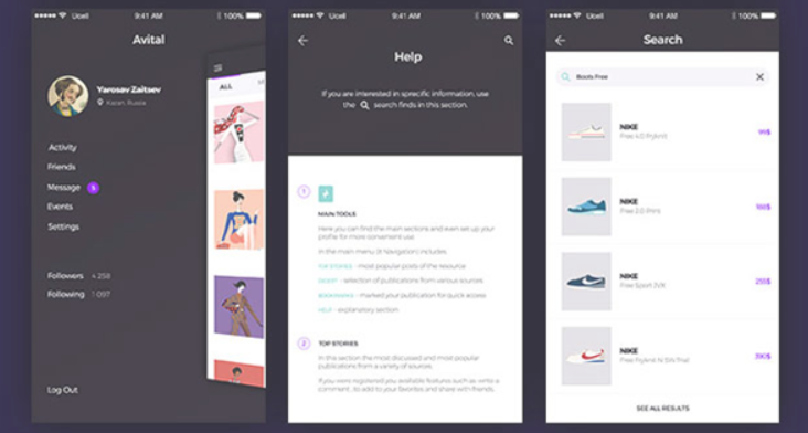 Top 20 Free PSD App Design Templates in 2020 41