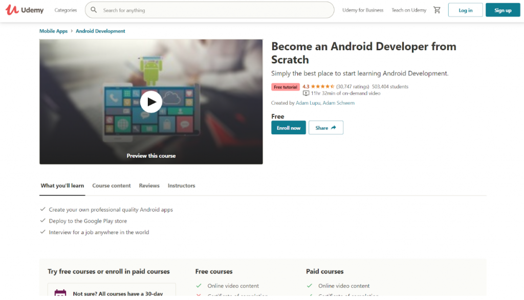 Learn App Development for Free With These 20 Top Online Courses 5