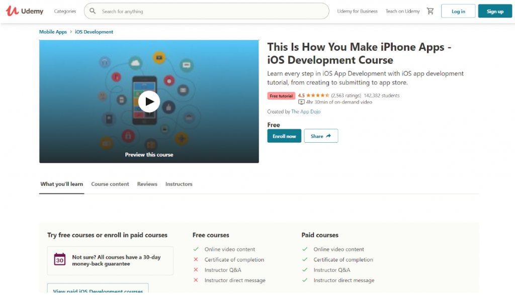 Learn App Development for Free With These 20 Top Online Courses 16