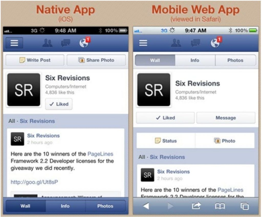 What Is a Native App and How It Is Different From Hybrid and Web Apps? 10